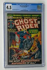 MARVEL SPOTLIGHT #5 Marvel 1972 CGC 4.5 Ghost Rider 1st Appearance Johnny Blaze