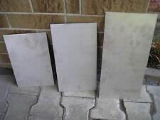 VA Blech, Edelstahlblech, 3 Stück, versch. Größen und Stärken