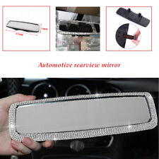 Car ABS+Glass Rear Flat View Mirror Wide-angle Lens Driving Reversing Safety