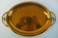 Bandeja de bronce-Art-Nouveau-art - deco-ildfast-Tablet-very nice-vintage