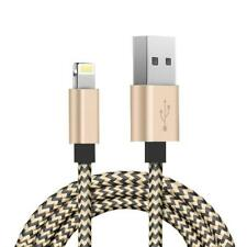 BRAIDED 6FT LONG CORD USB CABLE FAST CHARGE POWER SYNC WIRE For iPHONE iPAD iPOD