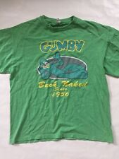 Men's Vintage Gumby Shirt Size Large