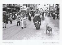 "*Postcard-""The Children's Parade"" -1942- Charro Days @ Brownsville Tx (A50-1)"