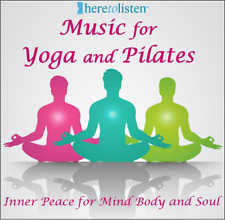 Yoga & Pilates Music CD  60 minutes of continuous- soothing and reflective bliss