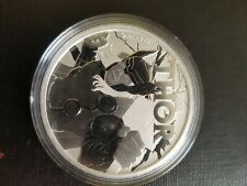 THOR - MARVEL SERIES - 2018 1 oz Pure Silver Coin - Tuvalu - Perth Mint