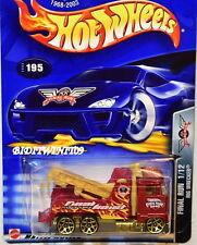 HOT WHEELS 2003 FINAL RUN RIG WRECKER #195 RED