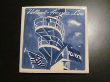 HOLLAND AMERICA CRUISE LINE delft tile CROWS NEST NASM flag ships deco style
