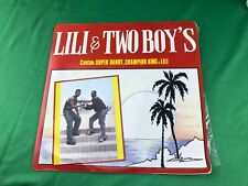 Lili & Two boys Cantan Super Dandy, Champion King & Lili (LP) Reggae Panamá