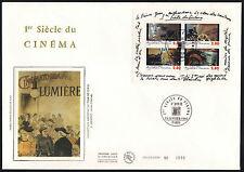 1995 BLOCS # 17 & 18 SUR ENVELOPPES FDC NUMEROTEES /COTE 32.00 € (ref F139ab)