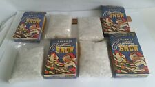 Vintage Bethany Lowe Sparkle Christmas Snow 6 Ounce Box x 4