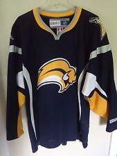 f348bbc33 Vintage CCM NHL Buffalo Sabres Premium Hockey Jersey Mens XL Stitched Logo