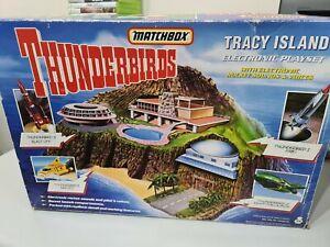 Matchbox Thunderbirds Tracy Island Playset Boxed 99% Complete 1992