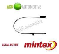 MINTEX REAR BRAKE PAD WEAR SENSOR WARNING INDICATOR GENUINE QUALITY - MWI0154
