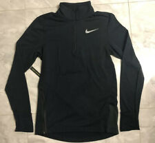 NWT Nike Therma Sphere Element 1/2 Zip Running Top - S (928557-010) Reflective