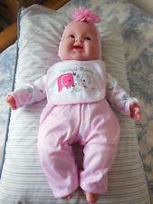 "Berenguer 20"" Baby Doll With Soft Body and Little Teeth *NEW*"