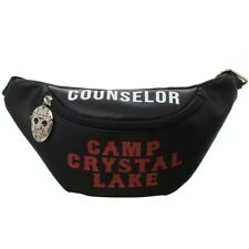 FRIDAY THE 13TH JASON CAMP CRYSTAL LAKE COUNSELOR FANNY PACK WAIST HIP SLING BAG