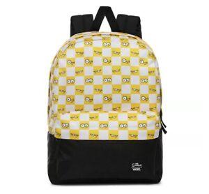 VANS SIMPSONS Backpack - Check Eyes
