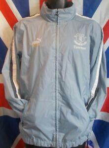 Vintage Everton Puma Tracksuit Track Training Jacket 2002-2003 (M)