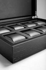 Caja Bodhy - Relojero para 8 relojes en madera lacada - Para Rolex , Omega