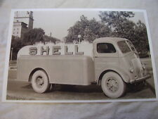 1938 WHITE TANKER SHELL OIL TRUCK 11 X 17  PHOTO  PICTURE