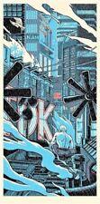 "Blade Runner ""TEARS IN THE RAIN"" Imprimé Poster par Mondo Artiste Tim Doyle signé"