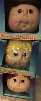 3 VINTAGE The Original DOLL BABY Doll Head BY MARTHA NELSON THOMAS 1984 W/ Boxes