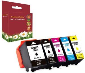 202XL Ink cartridges Full Set for Epson XP 6000 XP 6005 XP 6100 X P6105