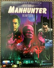 Manhunter (1986) [Scream Factory 2 Disc Collectors Edition Bluray OOP Slipcover]