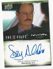 Doug Abrahams The X Files Ufos & Aliens Paranormal Script Autograph Card Auto