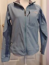 The North Face Women's Apex Bionic Soft Shell Jacket Med M Light Blue Flight
