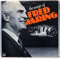 The Magic of Fred Waring 2-LP Set NM Vinyl Americana Songs Pop Vocal Chorus