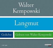 Langmut, 1 Audio-CD von Walter Kempowski (2009)