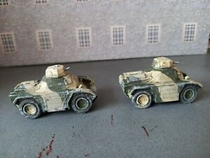 2 X Ferret Scout Cars 1/76 Scale wargames resin used.