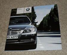 BMW 3 Series E90 listino prezzi OPUSCOLO 2008 SE M Sport 318 320 325 i 325d 330d 335d