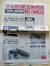L'AUTO-JOURNAL n°222 de 15/05/1959 Essai Alpine/ Skoda Octavia/ Voiture Pub