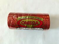 Hilo Omega #3 Metallic(Nylon-90%,Polyester 10%)180meters-196yards***NEW COLORS**