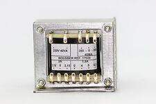 TRANSFORMADOR DE RADIO ANTIGUA 350-0-350V 40VA PARA 4 VALVULAS. R2-17029 ..4