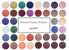 COLOURPOP   Pressed Powder Shadow Single ALL SHADES Eyeshadow Colour Pan GENUINE