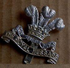 Royal hussars Cap badge  Staybrite 1980's