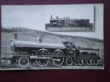 POSTCARD 6'6'' 6  COMPOUND LOCO NO 86 & 7' 8 WHEELED LOCO NO 2053 'GREATER BRITA