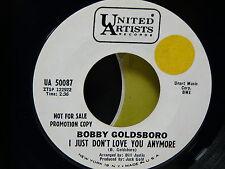 BOBBY GOLDSBORO I just don't love you anumore / blue autumn UA50087 USA  PROMO