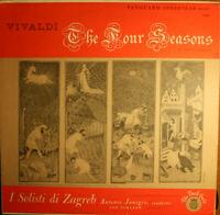 Vivaldi: The Four Seasons~I Solisti di Zagreb~Antonio Janigro - Vintage Vinyl NM