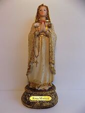 "Maria Rosa Mistica 20 cm / Virgin Mary Mystical Rose  8"" inches Statue/Figurine"
