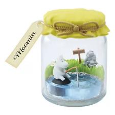 Miniatures Moomin Jam Bottle Terrarium Set #1 , 1pc only   - Re-ment