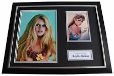 Brigitte Bardot SIGNED FRAMED Photo Autograph 16x12 display Film AFTAL & COA