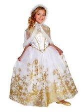 Nwt Girls Size Medium (7-8) Hyde & Eek Snow Queen Halloween Costume Dress