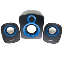 Jedel Compact Sound System 2.1 PC Desktop Laptop Tablet USB Powered Speakers