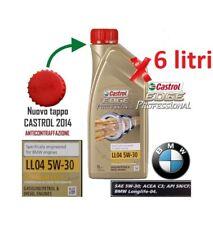 Olio Motore Castrol EDGE Professional Titanium FST BMW LL04 5W30 ACEA C3 - 6 lt.
