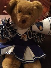 Build A Bear Cheerleader With Skirt Shirt Pom Pom Megaphone Vguc