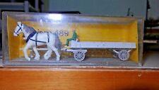PREISER art. 489 carretto con due cavalli HO